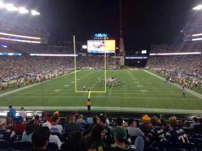 Gillette Stadium section 120