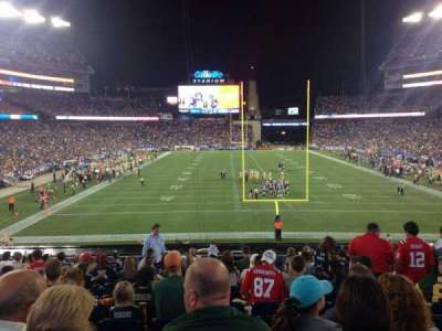 Gillette Stadium, section: 121, row: 33, seat: 8