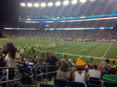 Gillette Stadium, section: 127, row: 27, seat: 5