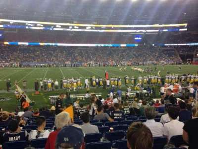 Gillette Stadium, section: 133, row: 15, seat: 8