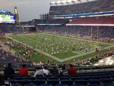 Gillette Stadium section 224