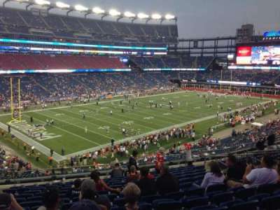 Gillette Stadium, section: 237, row: 14, seat: 14