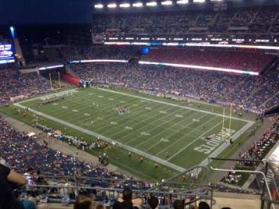Gillette Stadium section 325