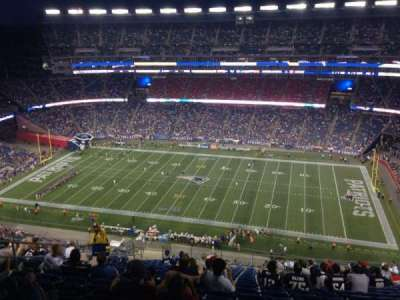 Gillette Stadium section 329