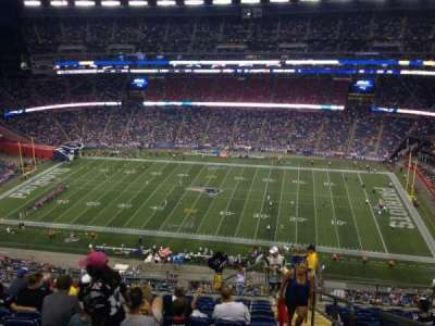 Gillette Stadium section 330