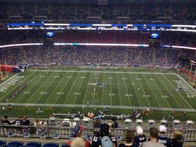 Gillette Stadium section 331