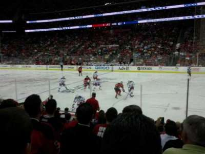 Prudential Center, section: 21, row: 7, seat: 7