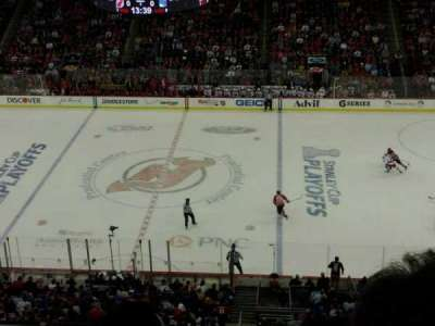 Prudential Center section 129