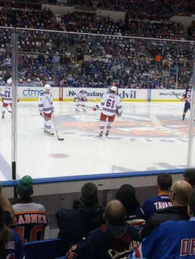 Old Nassau Veterans Memorial Coliseum, section: 103, row: 4, seat: 4