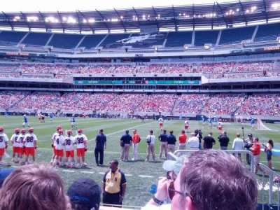 Lincoln Financial Field, section: 122, row: 3, seat: 1