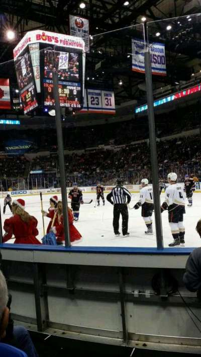 Old Nassau Veterans Memorial Coliseum, section: 113, row: 2, seat: 1