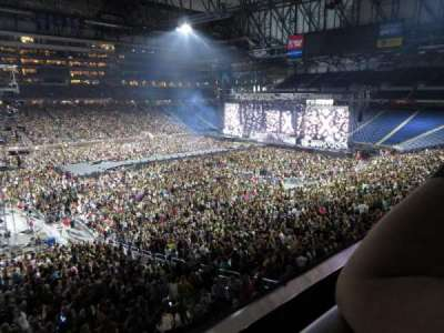 Ford Field, section: 227, row: 1, seat: 22