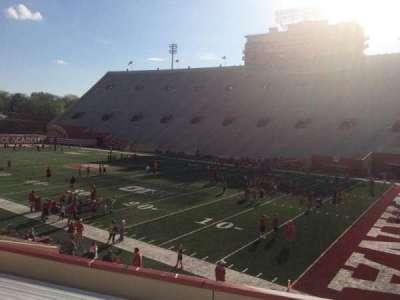 Memorial Stadium (Indiana), section: 22, row: 24, seat: 3