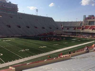 Memorial Stadium (Indiana), section: 30, row: 24, seat: 103