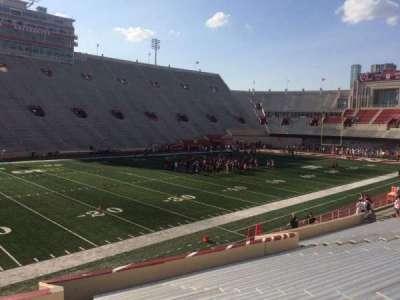 Memorial Stadium (Indiana), section: 30, row: 24, seat: 103