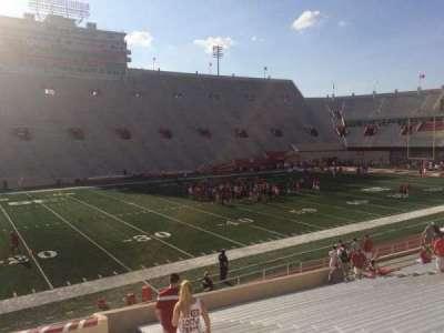 Memorial Stadium (Indiana), section: 29, row: 24, seat: 103