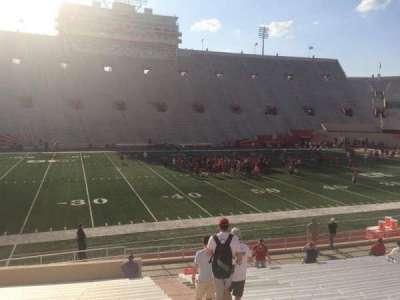 Memorial Stadium (Indiana) section 27