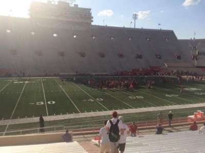 Memorial Stadium (Indiana), section: 27, row: 24, seat: 103