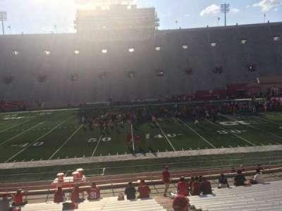 Memorial Stadium (Indiana), section: 26, row: 24, seat: 103
