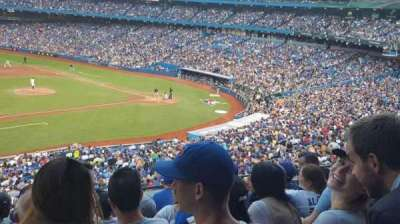 Rogers Centre, section: 232, row: 7, seat: 6