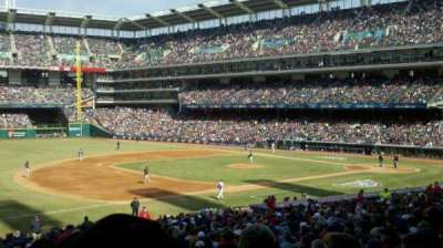 Progressive Field, section: 267, row: A, seat: 20