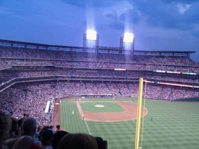 Citizens Bank Park, section: 306, row: 18, seat: 5