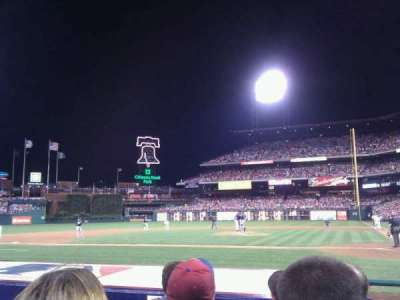 Citizens Bank Park, section: A, row: 7, seat: 9