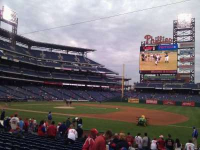 Citizens Bank Park, section: 114, row: 16, seat: 12