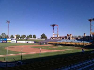 Cashman Field, section: 3, row: m, seat: 1