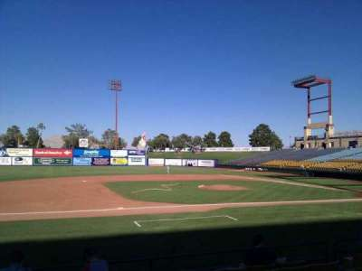 Cashman Field, section: 6, row: h, seat: 8