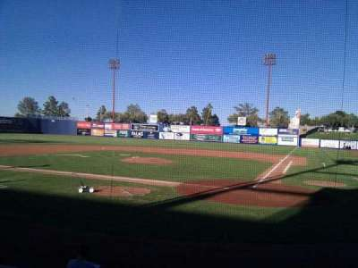 Cashman Field, section: 10, row: d, seat: 6