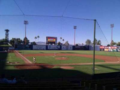 Cashman Field, section: 14, row: m, seat: 8