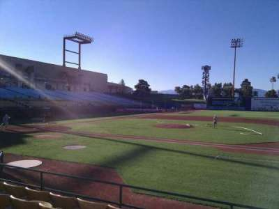 Cashman Field, section: 17, row: f, seat: 13