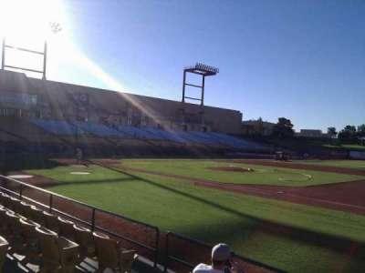 Cashman Field, section: 19, row: e, seat: 5