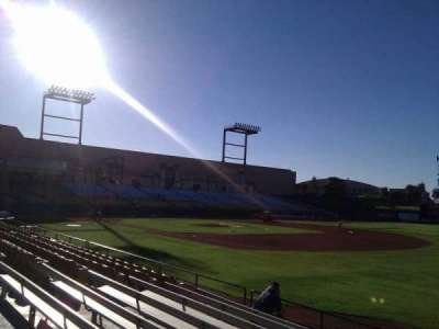 Cashman Field, section: 21, row: h, seat: 18