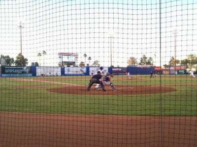 Cashman Field, section: C, row: 2, seat: 3