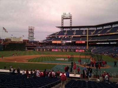 Citizens bank park  section 128