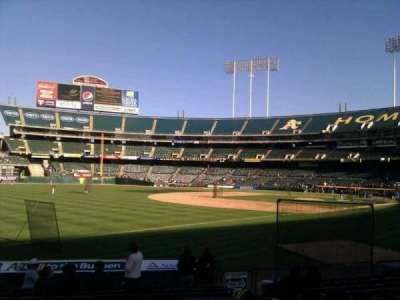 Oakland Alameda Coliseum, section: 128, row: 12, seat: 7