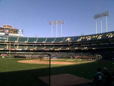 Oakland Alameda Coliseum, section: 127, row: 7, seat: 10