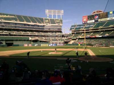 Oakland Alameda Coliseum, section: 119, row: 14, seat: 15