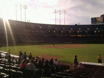 Oakland Alameda Coliseum, section: 106, row: 14, seat: 12