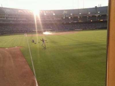 Oakland Alameda Coliseum section 103