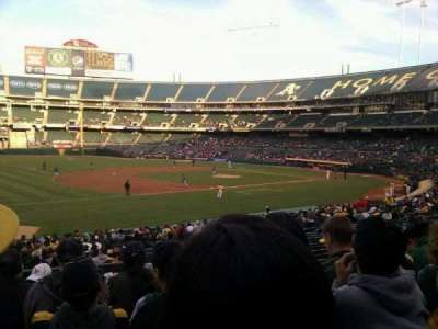 Oakland Alameda Coliseum, section: 126, row: 27, seat: 7