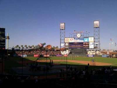 AT&T Park, section: 112, row: 26, seat: 7