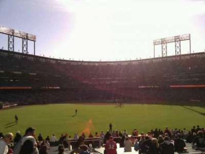 AT&T Park, section: 144, row: 30, seat: 2