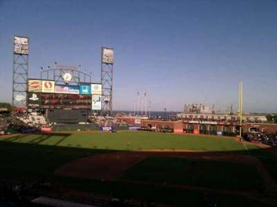 AT&T Park, section: 221, row: g, seat: 1