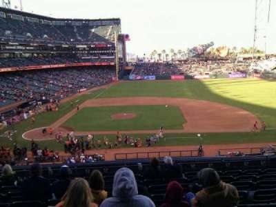 AT&T Park, section: 209, row: i, seat: 10