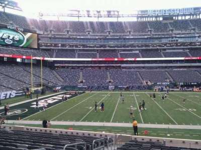 MetLife Stadium, section: 115a, row: 17, seat: 9