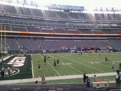 MetLife Stadium, section: 117, row: 12, seat: 9