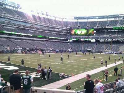 MetLife Stadium, section: 121, row: 10, seat: 5
